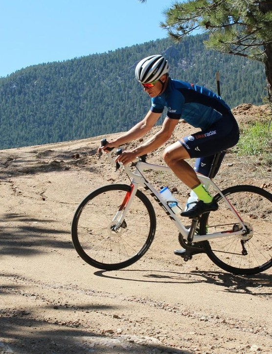 Many so-called adventure bikes feature huge head tubes and what for me is an overly upright position. The Domane fits like a normal road bike —it's just more capable for extra duty