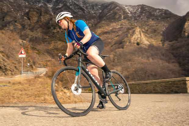 The Trek Domane SL 6 Disc Women's is BikeRadar's pick for Women's Road Bike of the Year 2018