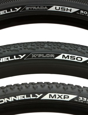 The new 650b tyres (yes one of the tyres in the image is 700c)
