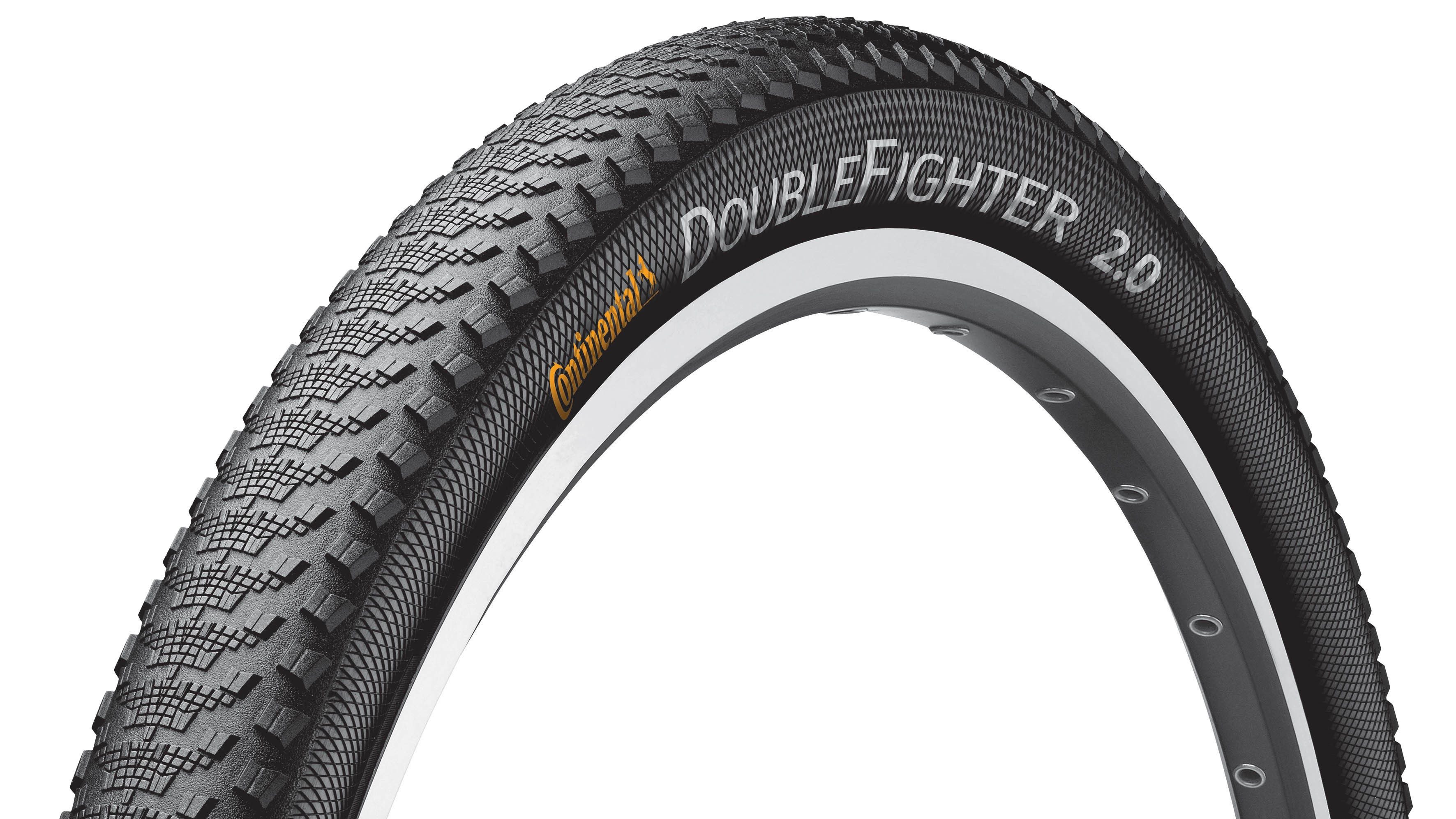 The Double Fighter III is an MTB tyre that'll run smooth on tarmac