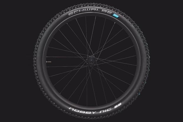 Schwalbe Nobby Nic Addix FastGrip 2.8in