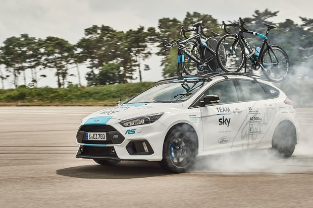 Why wouldn't you want a team car that can drift?