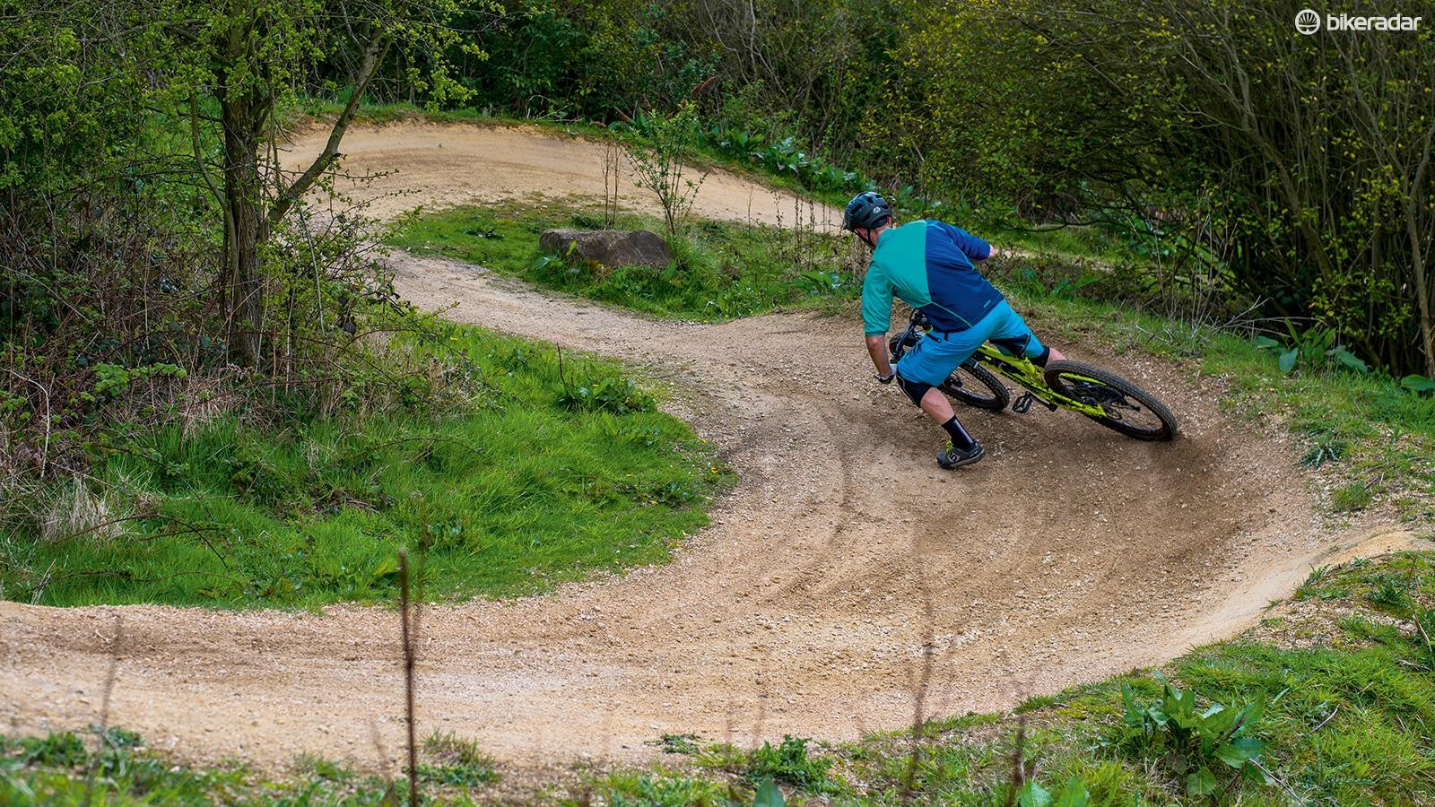How to drift berms