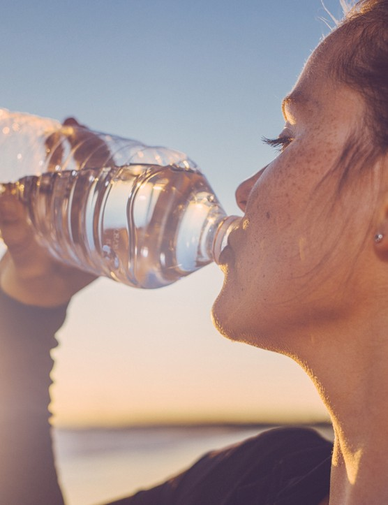 Stay hydrated to reduce your risk of getting cramp