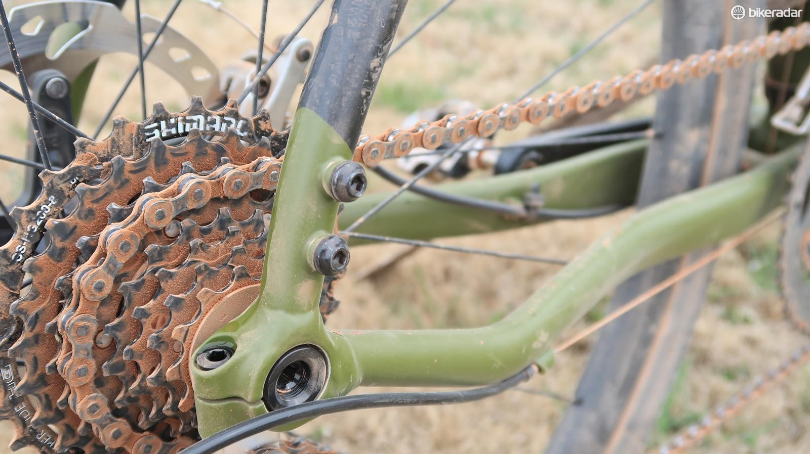 Shimano Claris might not be cutting edge, but it was surprisingly effective