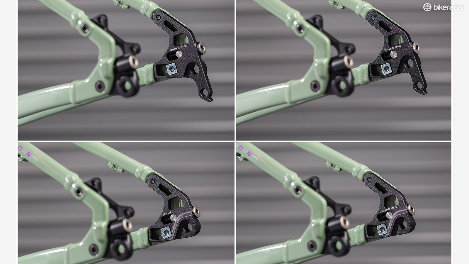 The Chameleon comes with uses modular dropouts that allow it to be set up with gears or as a singlespeed
