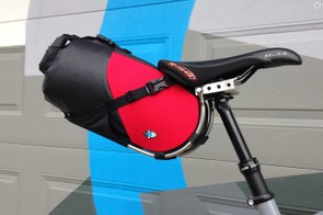 The big names are muscling their way into the bikepacking category, but the little guys still lead the way in innovation. Case in point: Porcelain Rocket's dropper compatible seat bag
