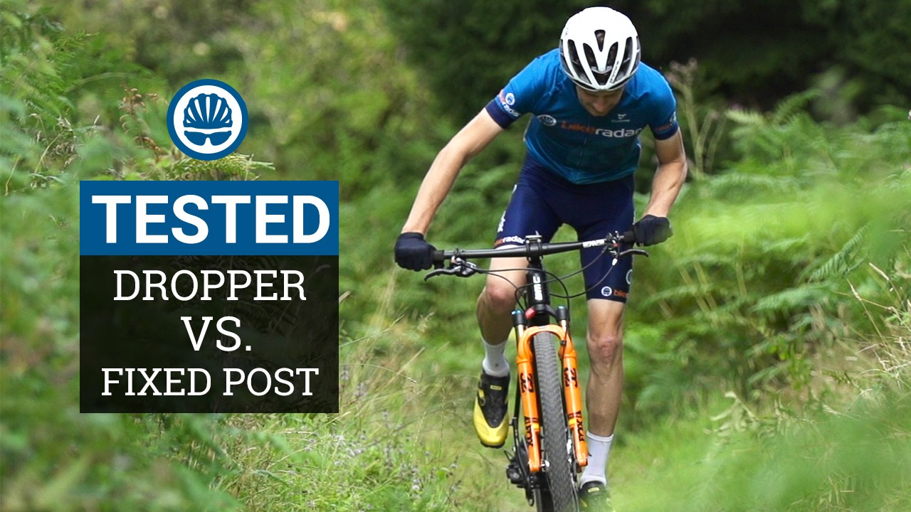 Dropper vs. fixed? Which is faster for XC racing