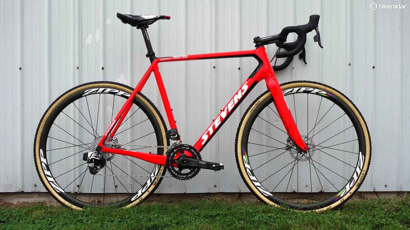 Wout van Aert's Stevens Super Prestige for the Jingle Cross World Cup