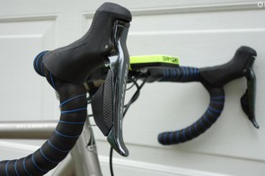 Shimano Dura-Ace R9170 levers provide the braking and shifting
