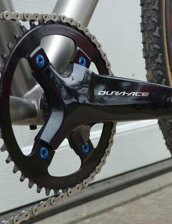 Another look at the crankset
