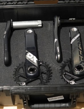 We got an early sneak peak of these prototype cranks — gun case and all!