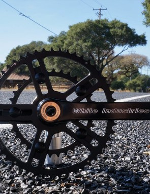 White Industries uses a Variable Bolt Circle Diameter to enable a wide range of chainring combos