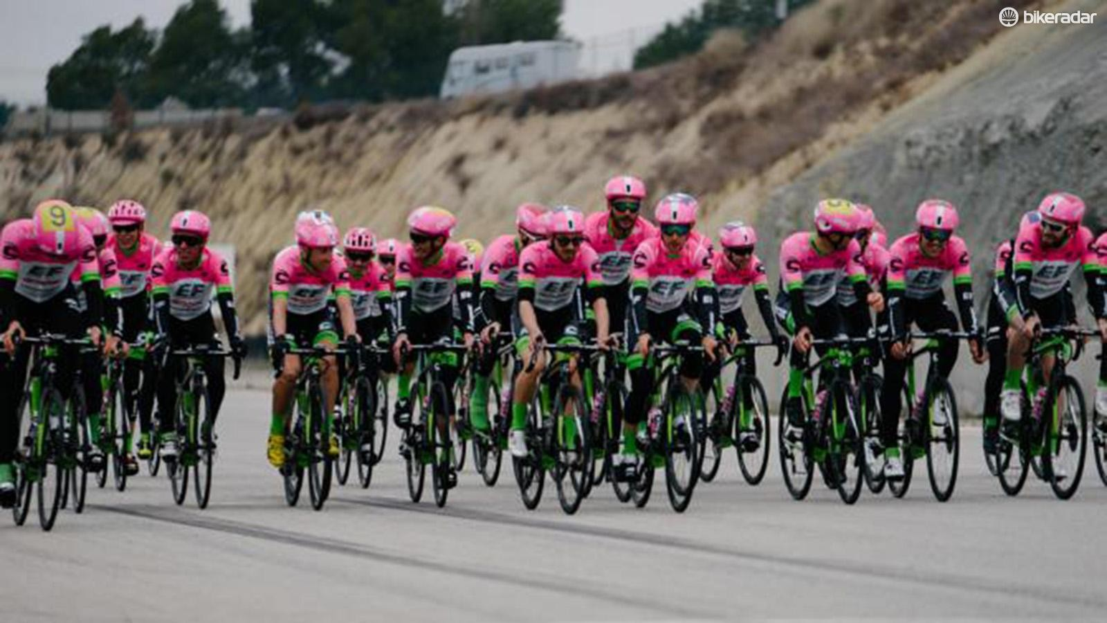 The complete 2018 EF Education First-Drapac squad