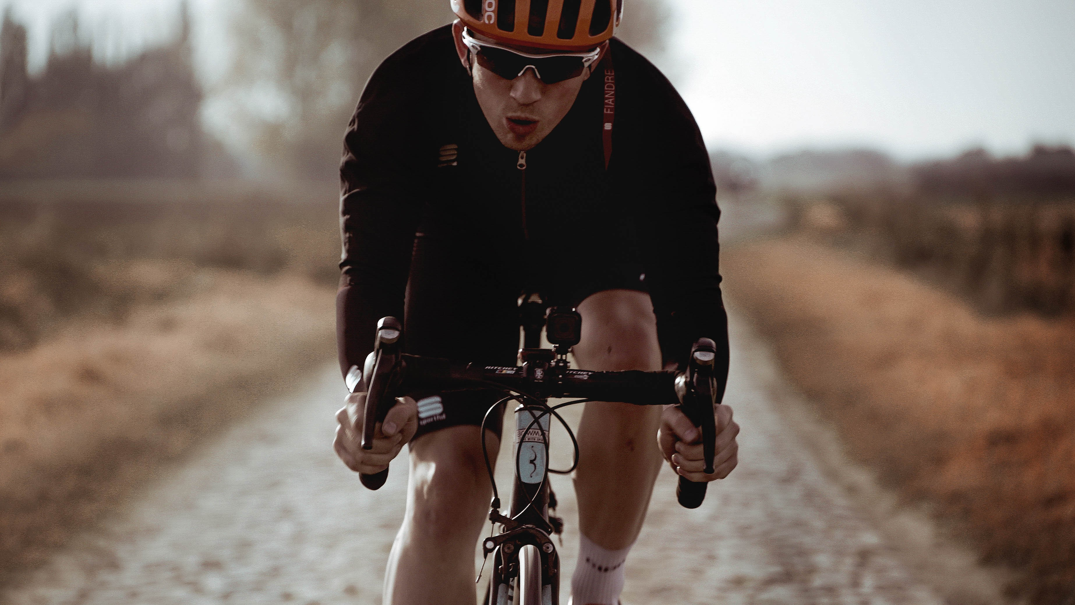 Our man Josh conquers the cobbles