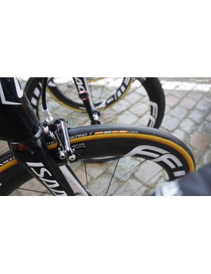 The Dutch Pro Continental outfit use Vredstein tyres