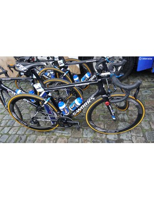 Philippe Gilbert's (Quick-Step Floors) Specialized S-Works Tarmac SL6 for the 2018 Tour of Flanders