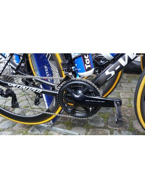 Quick-Step Floors and Bora-Hansgrohe are also using the new power meter from Specialized in 2018