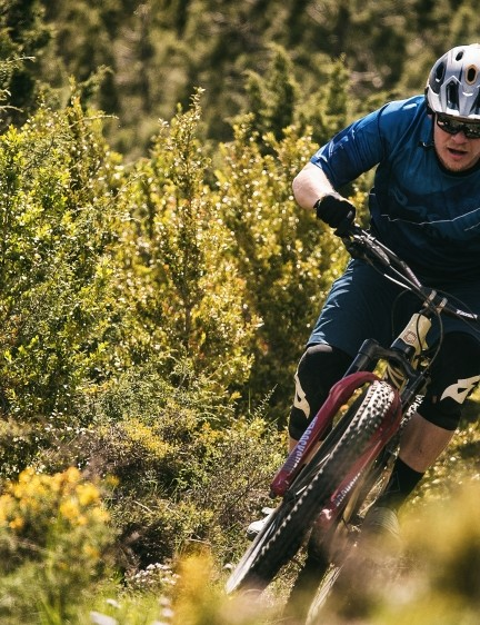 The AM 29 is built for the rough and rocky tracks of the EWS