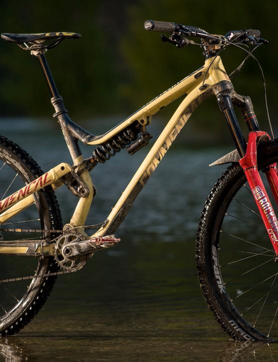 Big wheels are increasingly popular in gravity-orientated MTB disciplines