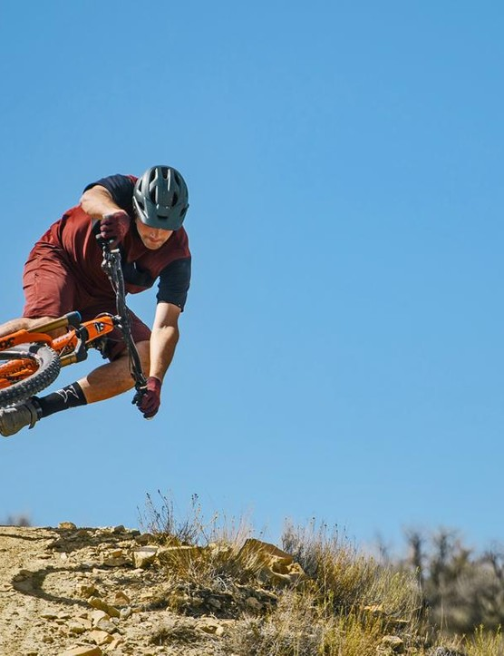 Rocky Mountain pro rider Thomas Vanderham shows what the new Instinct can do
