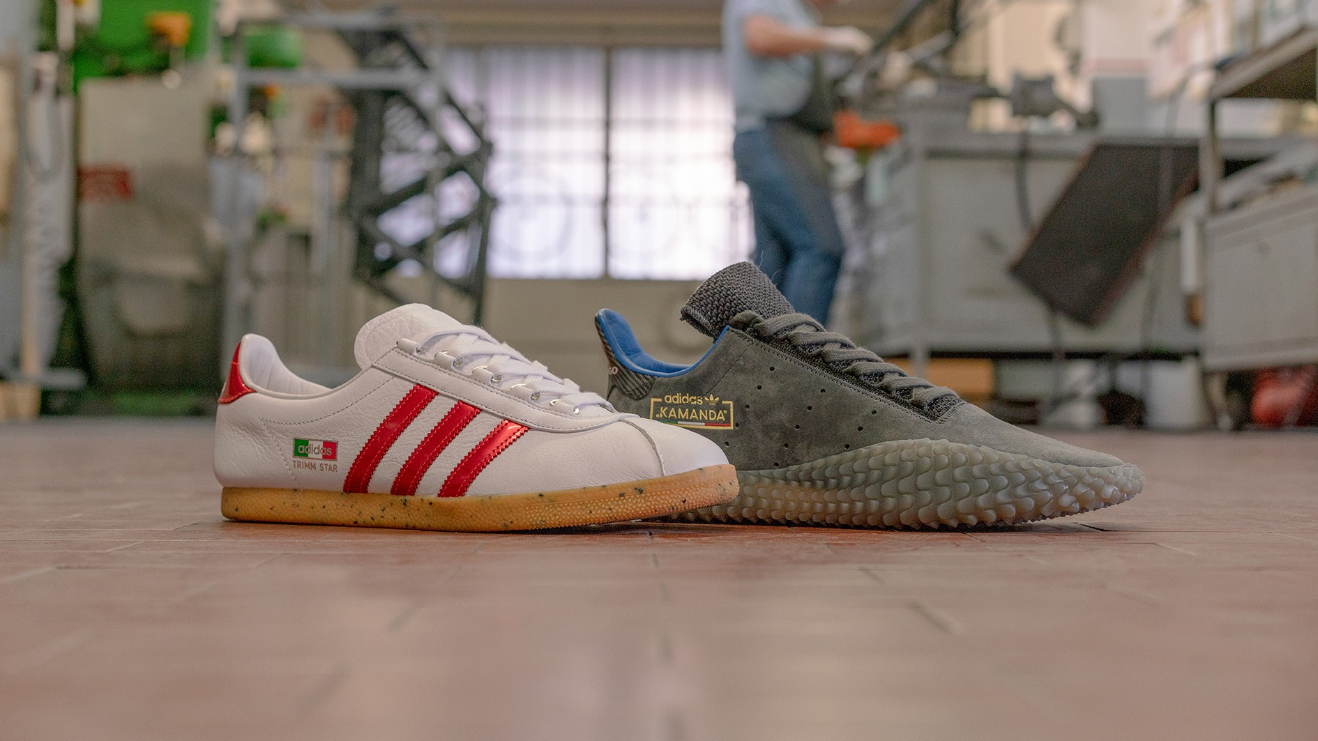 Adidas, Colnago and Size have teamed up to create a range of two fresh daps