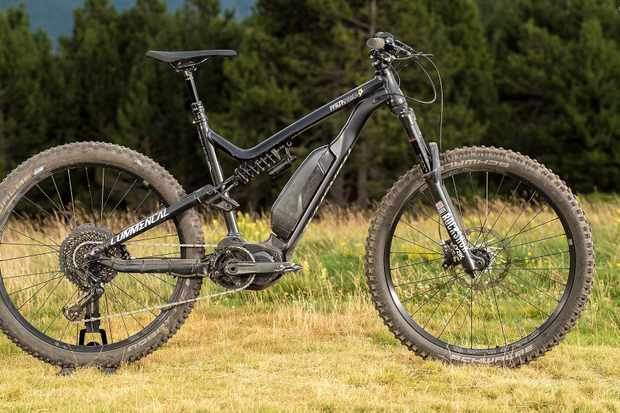 Take one rad enduro bike and stick a motor in the middle… this is what you get