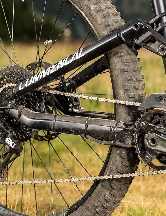 Mix and match: Shimano motor, SRAM drivetrain