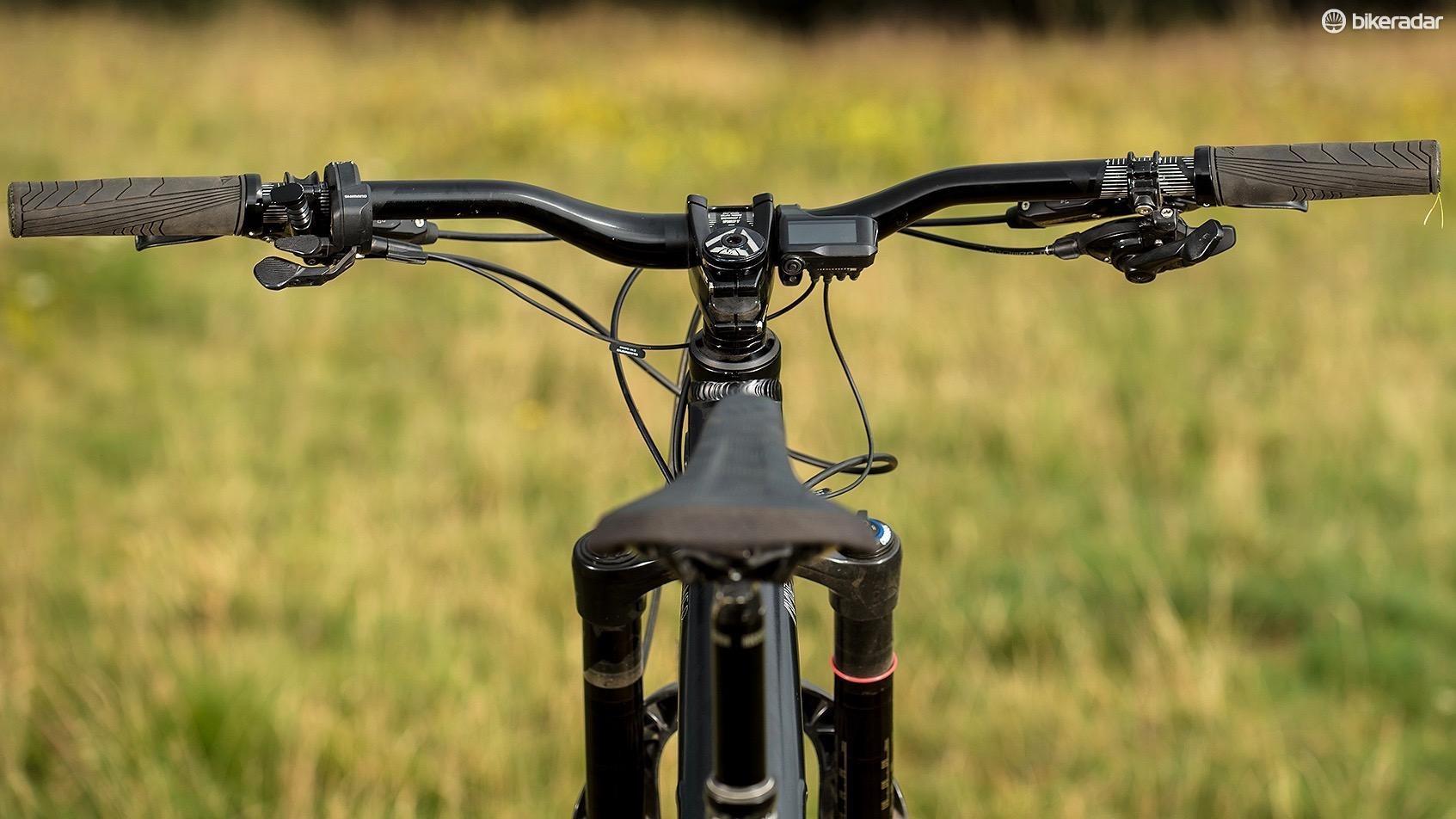 Slightly wonky saddle — oops!