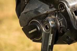 The motor packs a punch on high-torque climbs