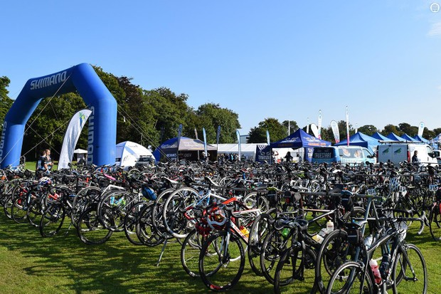 As well as car parking in close vicinity, there was ample storage for your bikes ahead of the event