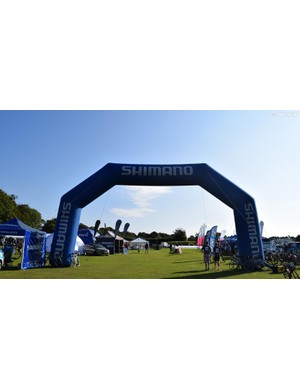 Shimano was exhibiting at the event