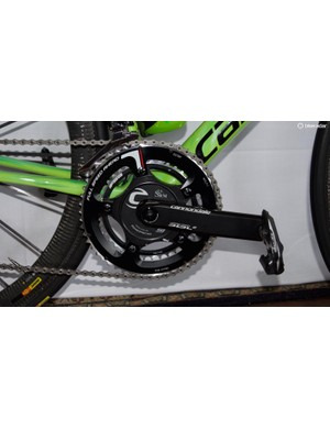 SRM provides the Cannondale-Drapac team with powermeters
