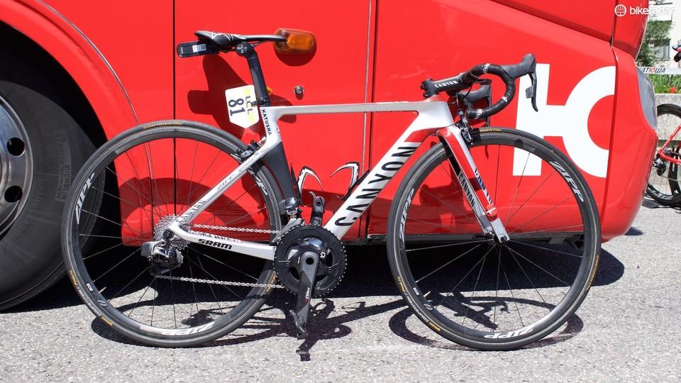 fefe2225bb6 Joaquim Rodriguez's Tour de France Canyon Aeroad CF SLX - BikeRadar