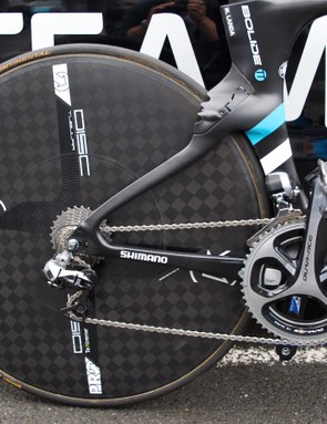 PRO provide the disc wheel for the Spaniard