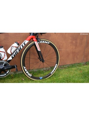 Team Sunweb have opted to switch from Shimano wheels to Giant wheels for the 2018 season