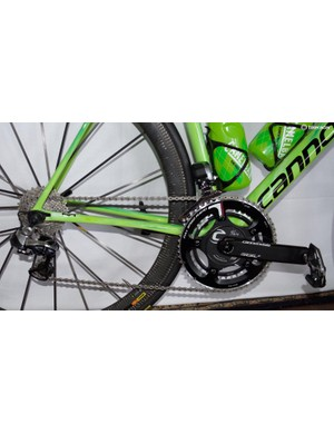 Cannondale in-house cranks and FSA 53-39 chainrings