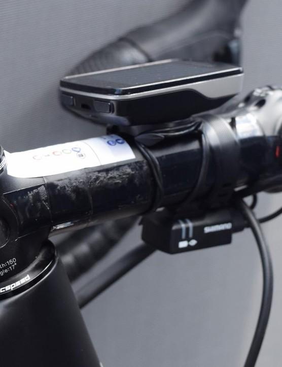 Cummings runs a blacked-out 3T ARX stem