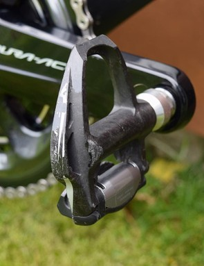 Well used Shimano Dura-Ace 9000 series pedals