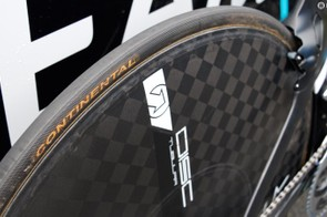 Continetal provide the rubber for Team Sky