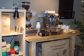 The truck has a better coffee machine than most cafes