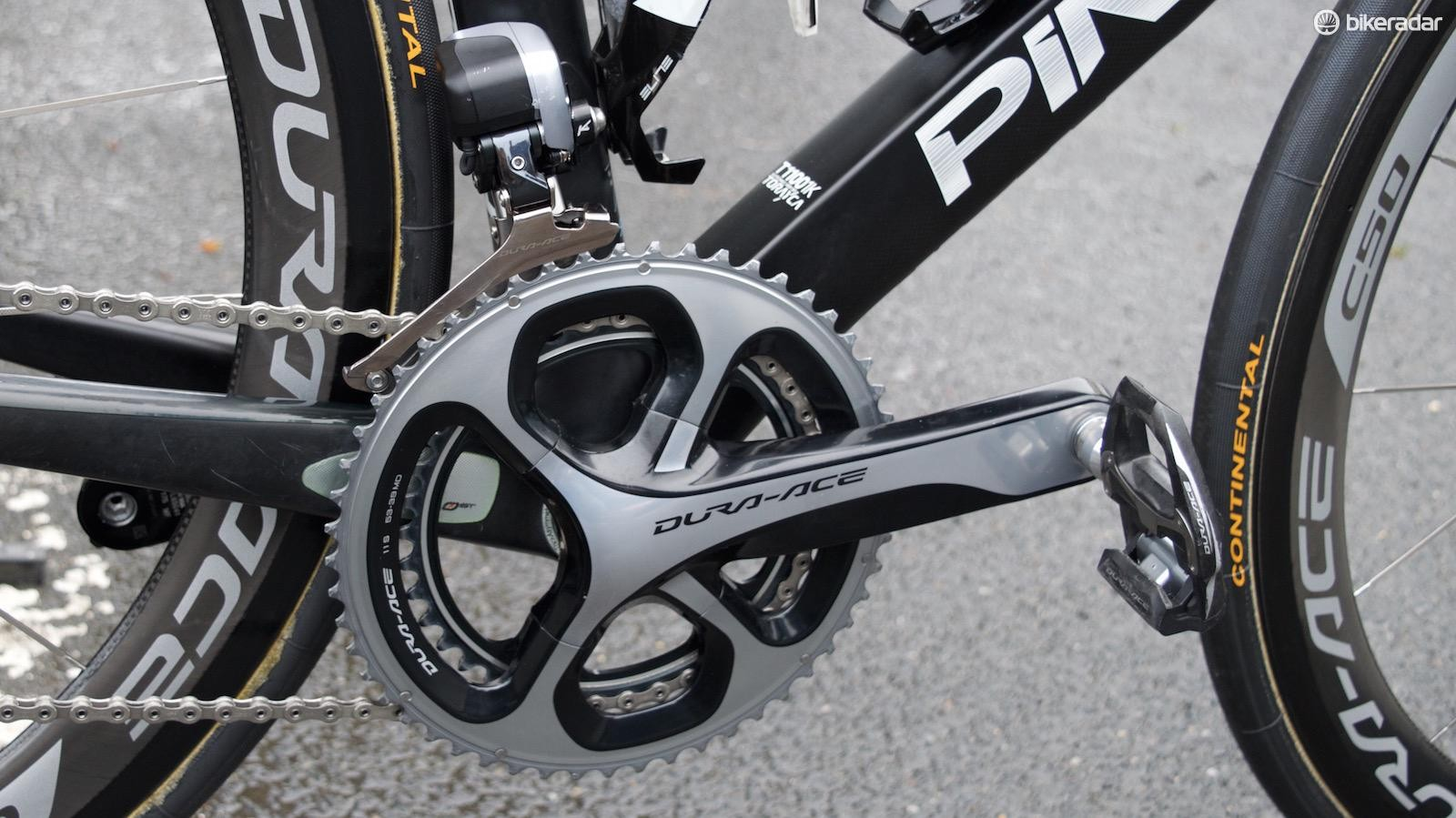 53x39t chainrings for Ian Stannard