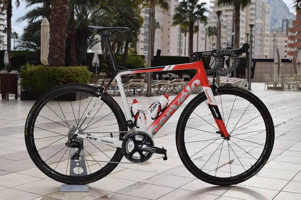 Tom Dumoulin's 2019 Team Sunweb Cervelo R5