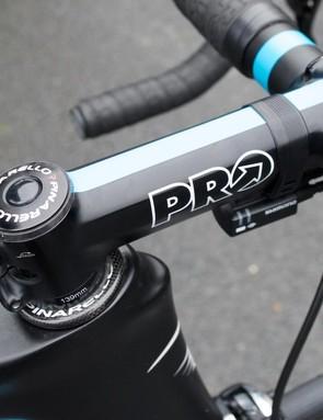 Ian Stannard's 139mm Pro stem
