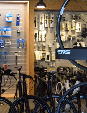 ENVE was one of the high-end brands stocked