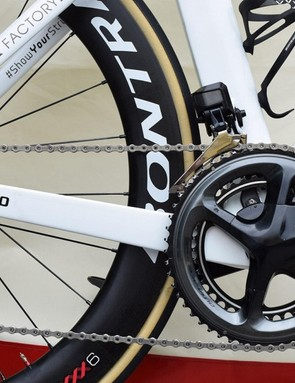Degenkolb's drivetrain consists exclusively of Shimano Dura-Ace R9100 series components