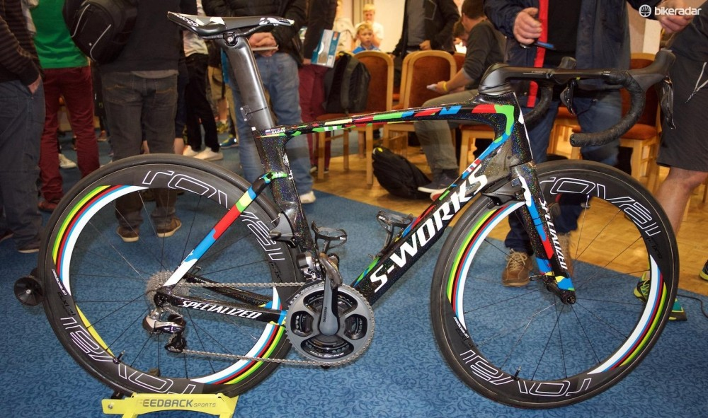 Peter Sagan's custom painted Specialized S-Works Venge ViAS