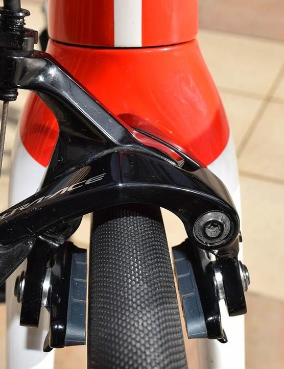 Dumoulin sticks with Shimano Dura-Ace R9100 rim brakes for 2019