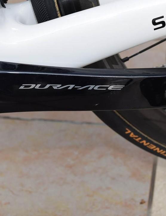 Team Sunweb uses dual-sided Shimano power meters