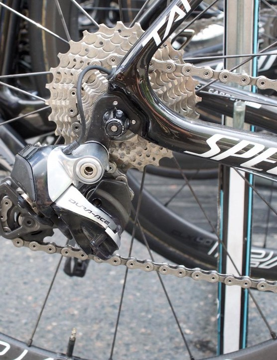 A short-cage rear derailleur for the German powerhouse